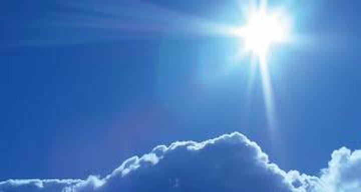 حالة الطقس: الحرارة أعلى من معدلها السنوي العام بحدود 3 درجات مئوية