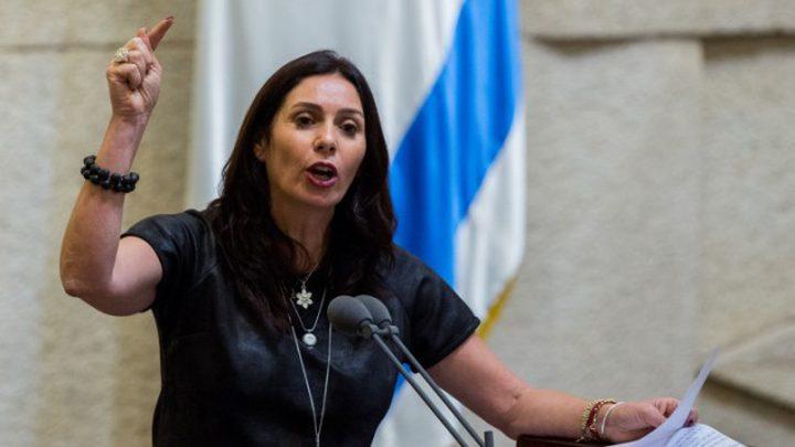 ريغيف رئيسة وزراء إسرائيل لساعات
