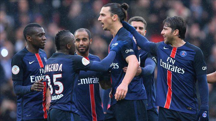 سان جيرمان يتصدر الدوري الفرنسي بفوزه على نيس