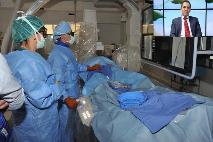 قسطرة علاجية تغني عن جراحة الدماغ وفتح جمجمة الرأس