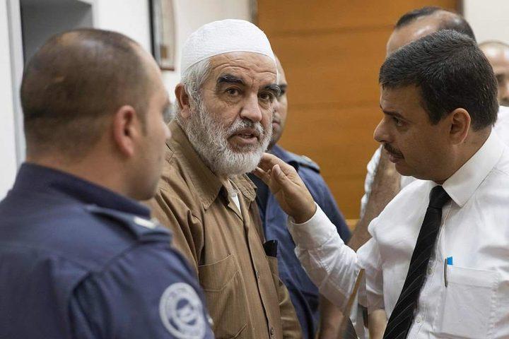 محكمة الاحتلال تستأنف محاكمة الشيخ صلاح