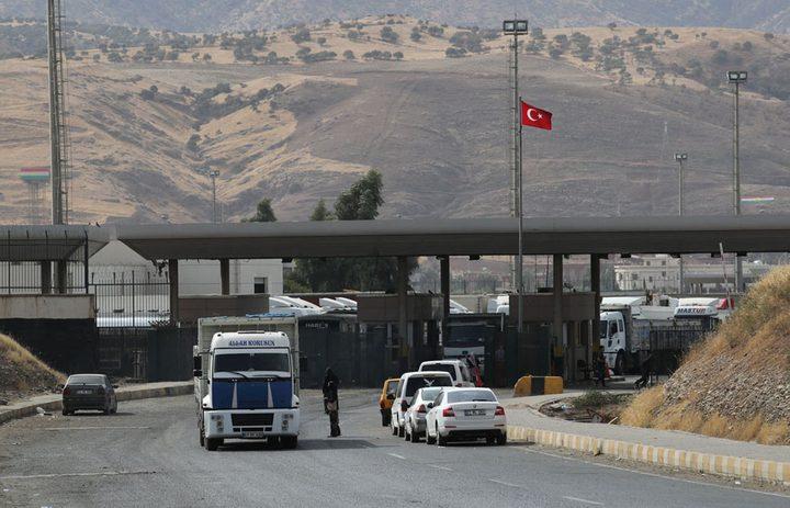 اتفاق بين بغداد وأربيل على إدارة الحدود التركية