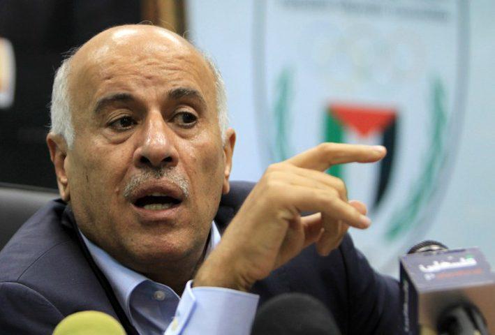 """الرجوب يتهم انفانتينو بالخضوع لـ """"تهديدات"""" اسرائيل بشأن أندية المستوطنات"""