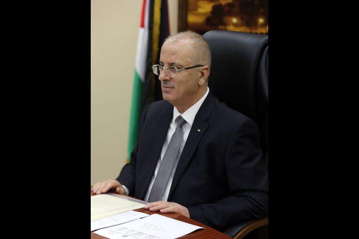 رئيس الوزراء: وضعنا أولى لبنات إنهاء القضايا العالقة وأطالب برفع الحصار عن غزة