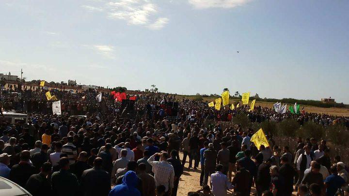 غزة تشيّع جثامين شهدائها(صور)