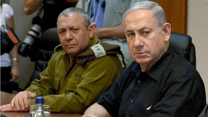 نتنياهو وآيزنكوت يهددان بالرد على أي هجوم