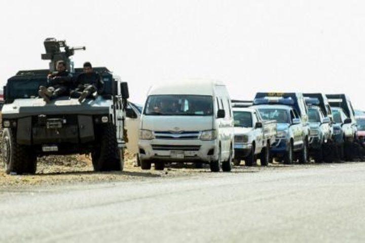 """الجيش المصري يعلن مقتل """"عناصر ارهابية"""" شاركت في هجوم الواحات"""