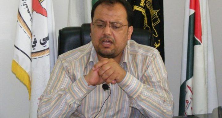 تصريحات جديدة : الجهاد الاسلامي تكشف للنجاح رسالتها للمصريين