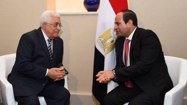 الرئيس يجتمع مع نظيره المصري في شرم الشيخ
