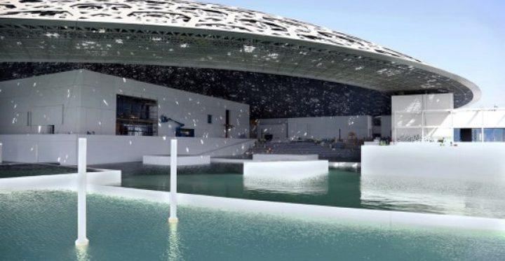 """افتتاح """"اللوفر أبو ظبي"""" بحضور الرئيس الفرنسي"""