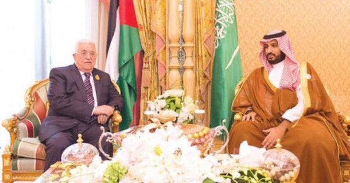 الرئيس يطلع ولي العهد السعودي على آخر المستجدات السياسية