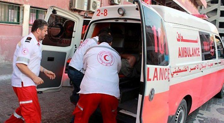 إصابة مواطنة إثر دهسها في نابلس