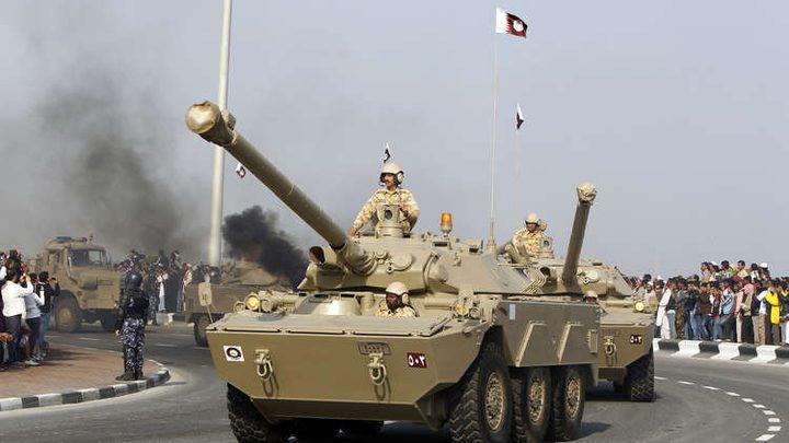 تدريبات في قطر لمواجهة هجوم كيميائي