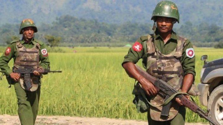"""رغم الجرائم ..""""إسرائيل"""" تبرر تزويد بورما بالسلاح"""