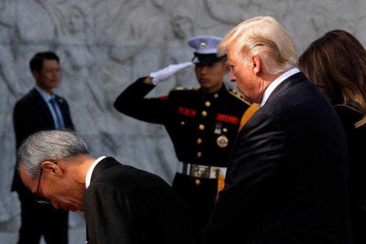 ترامب محذرًا كوريا الشمالية: لا تقللوا من شأننا ولا تمتحنونا