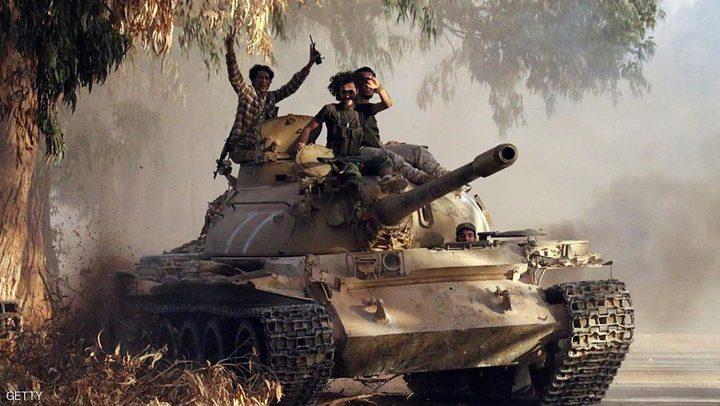 """الجيش الليبي ينهي وجود آخر جيب لـ""""داعش"""" في أخريبيش"""