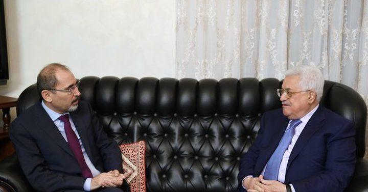 الرئيس يستقبل وزير الخارجية الأردني