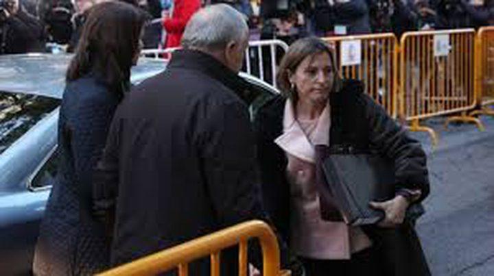 قرار بحبس رئيسة برلمان كتالونيا