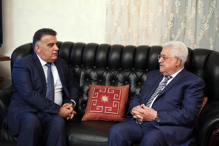الرئيس يستقبل مدير عام الأمن اللبناني