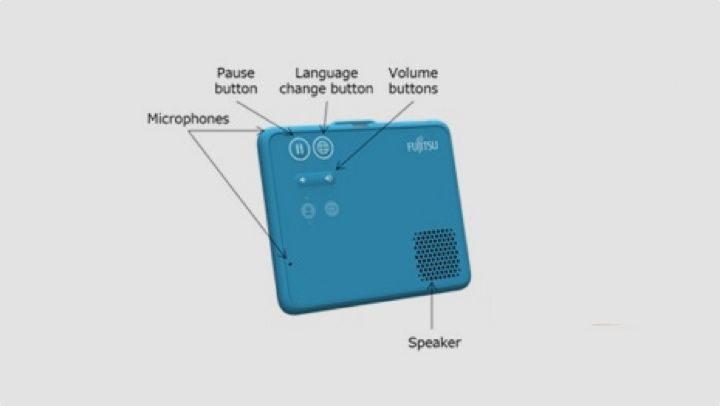 فوجيتسو تطور جهاز قابل للارتداء لترجمة الكلام