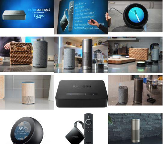 أمازون تعلن عن مجموعة من المنتجات الجديدة