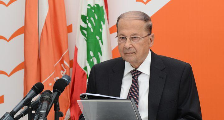 """وفد من """"حماس"""" يلتقي الرئيس اللبناني"""
