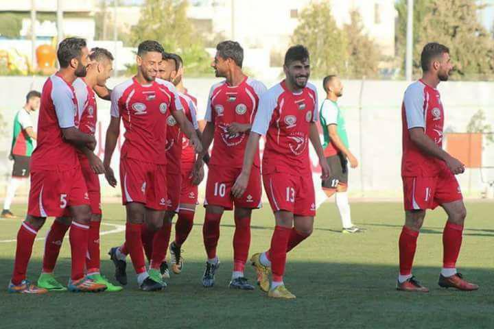 مبارة ساخنة بين بلاطة والسموع في نهائي كأس أبو عمار
