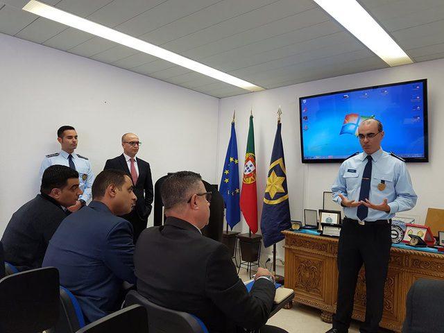 الشرطة تختتم زيارة دراسية إلى البرتغال