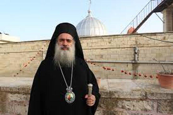 المطران حنا: عراقة وهوية القدس أقوى من سياسات الاحتلال