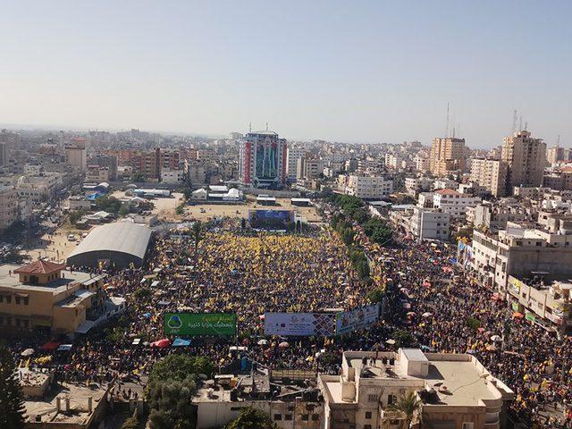 غزة: انطلاق مهرجان ذكرى استشهاد الرئيس ياسر عرفات