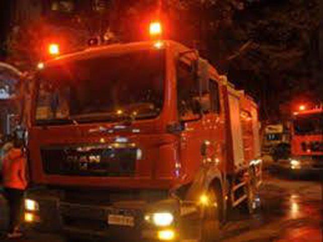 إصابتان جراء انفجار اسطوانة غاز في عربة للمشروبات