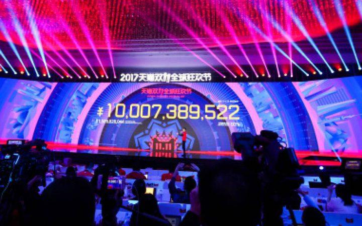 أكبر مهرجان للتسوق في العالم يحقق مبيعات بـ25 مليار لشركة علي بابا