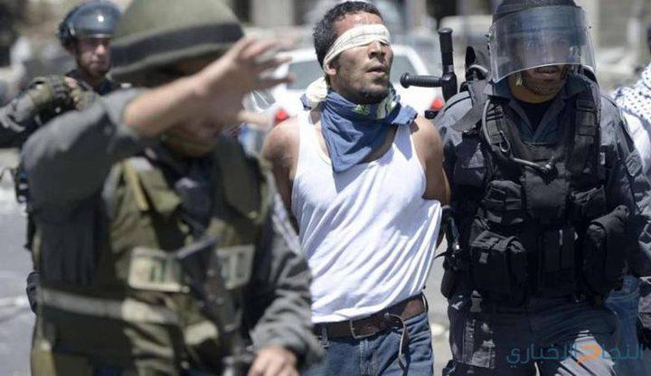 الاحتلال يعتقل (9) مواطنين بالضفة