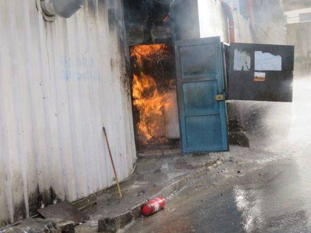 السيطرة على حريق اندلع بمطعم جنوب نابلس