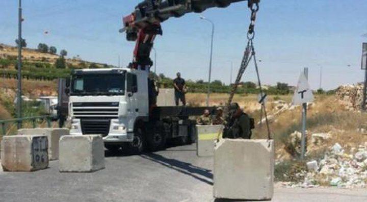 الاحتلال يقرّر نقل حاجز عسكري على أراضي الولجة