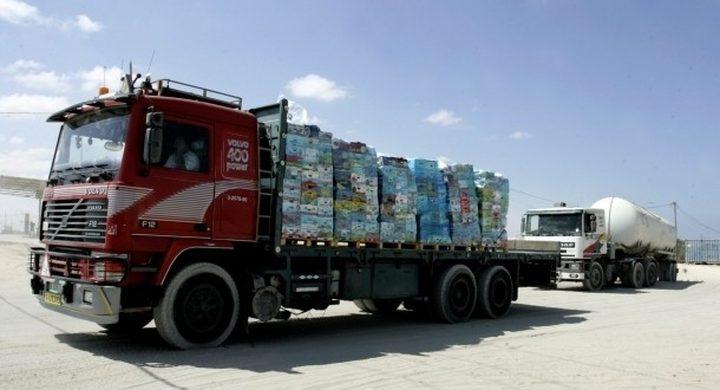 فتح كرم أبو سالم لإدخال 472 شاحنة