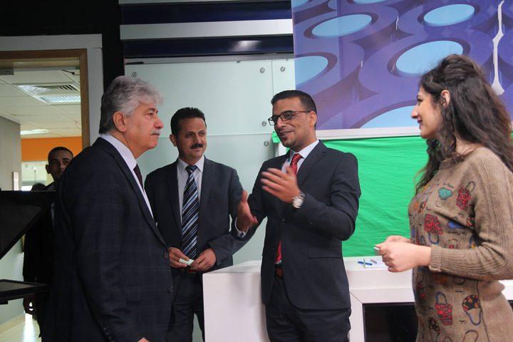 د. أحمد مجدلاني: مركز الإعلام في النجاح حقق قفزات نوعية خلال العام الأخير