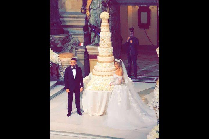 حفل زفاف أسطوري لحفيدة عبدالحليم خدام