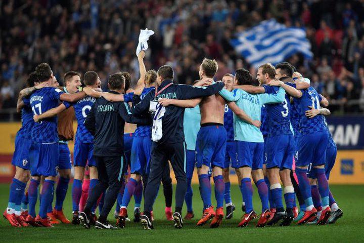 رغم التعادل...كرواتيا تتأهل لنهائيات كأس العالم