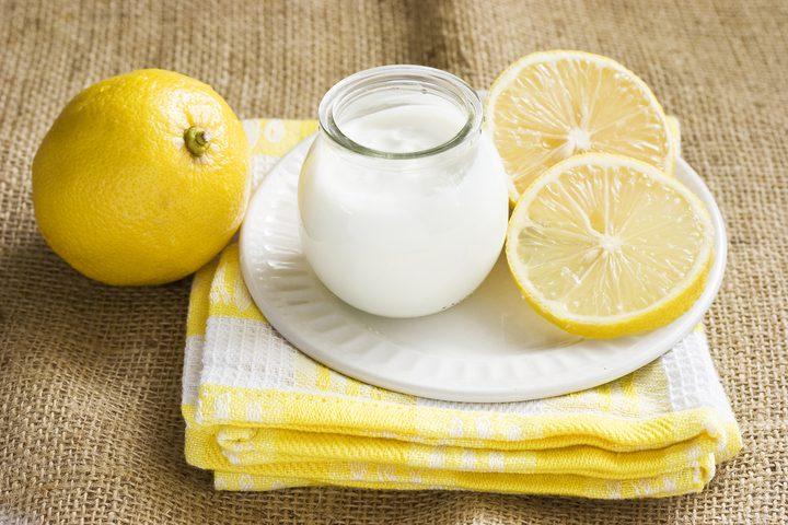 فوائد الزبادي والليمون للتنحيف