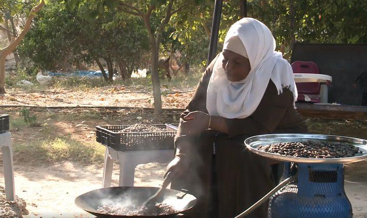 طريقة عمل القهوة من نواة التمر الفلسطيني