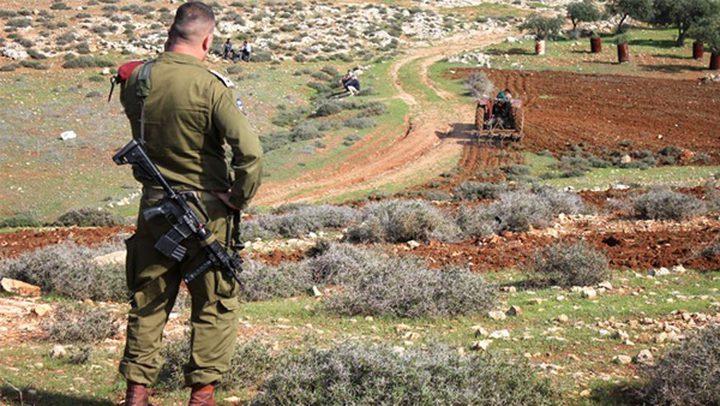 الاحتلال يخطر بالاستيلاء على أراض في شوفة بطولكرم