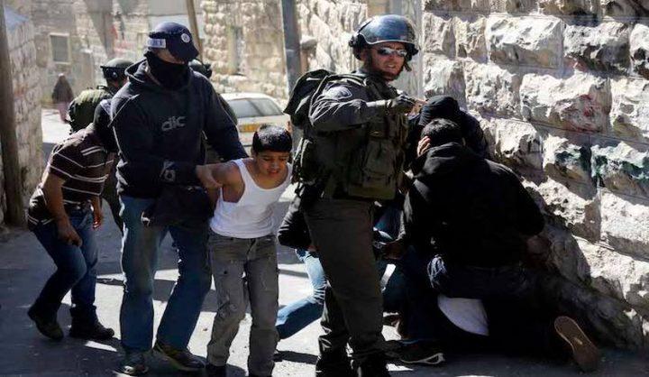 الاحتلال يعتقل أربعة قاصرين من سلوان