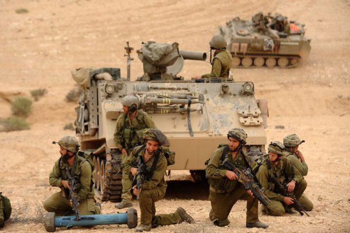 الاحتلال يجري تدريبات بالذخيرة الحية جنوب نابلس