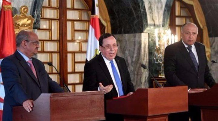 القاهرة تستضيف قمة ثلاثية لبحث جهود تسوية الأزمة الليبية