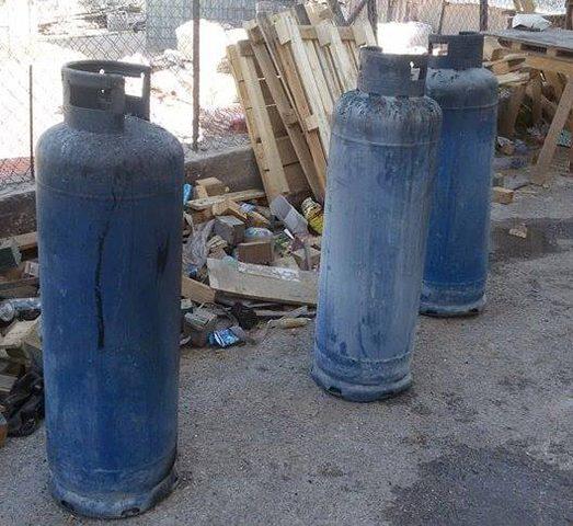 اندلاع حريق في معمل صناعات بلاستيكية