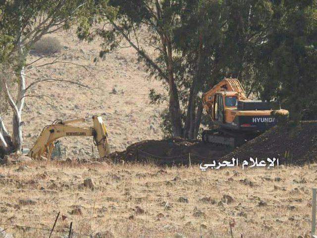 حزب الله ينشر صورًا لتجهيزات الاحتلال للحرب جنوب لبنان