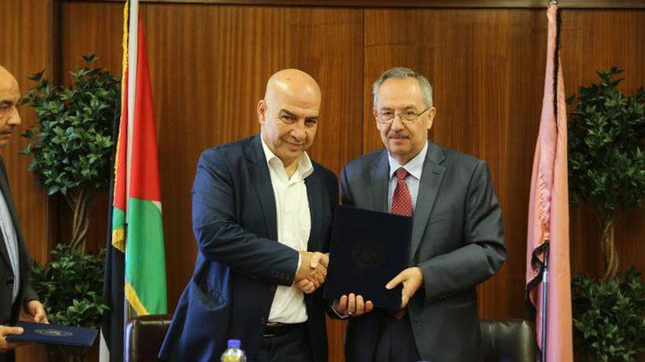 """توقيع مذكرة تعاون بين """"التوجيه السياسي"""" وجامعة النجاح الوطنية"""