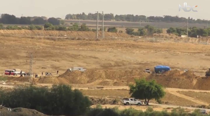 الاحتلال يحشد قواته على الحدود مع قطاع غزة