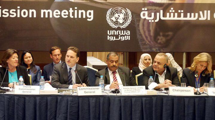 """مصر تدعو للحفاظ على أنشطة """"الأونروا"""" من أجل استقرار المنطقة"""